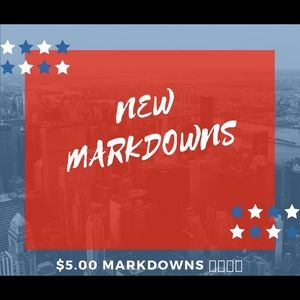 Other - 💥🌟🌟 NEW MARKDOWNS JUST MADE 💥🌟⭐️